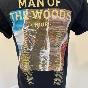Small Justin Timberlake Man of the Woods Shirt top